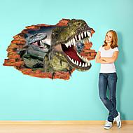Hayvanlar Duvar Etiketler 3D Duvar Çıkartması Dekoratif Duvar Çıkartmaları,Kağıt Malzeme Çıkarılabilir Ev dekorasyonu Duvar Çıkartması