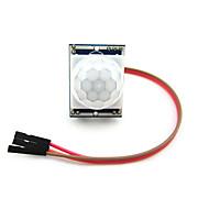 módulo de detector infravermelho pyroelectric pir motion sensor para arduino
