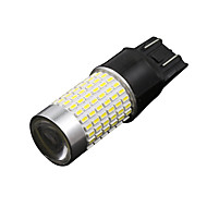 2x t20 7440 auto LED-lampen 3014 144smd auto richtingaanwijzer / rem / achterlicht 12-24v