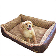 Cat Dog Bed Pet Blankets Waterproof Beige Coffee For Pets