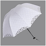 "billiga Brudparaplyer-Posthandtag Bröllop Dagligen Paraply Paraplyer 34.7""(ca. 88cm)"
