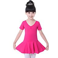 Skal vi ballet kjole børns træning bomuld ruched kjole