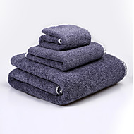 cheap Towels & Robes-Fresh Style Bath Towel Set, Embroidery Superior Quality 100% Cotton Knitted Towel