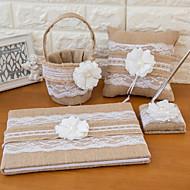 voordelige Serveersets-elegante mooie set met huwelijkscollectie (4 stuks) huwelijksceremonie