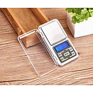 precisão mh01 de jóias mini-eletrônico portátil chamado de volta 0,1 g de luz (Inglês (200 g / 0,01 g))