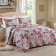 cheap Quilts & Coverlets-Comfortable Plain 100% Cotton Cotton Plain 100% Cotton Cotton Quilted Floral