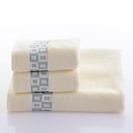 tanie Autumn's New Blooms-Świeży styl Set Bath Towel, Przędza barwiona Najwyższa jakość 100% bawełna Dzianiny Ręcznik