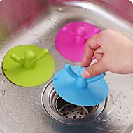 カップカバーシリコーンは、プラグキッチンバスルームの臭い下水道の蓋ランダムな色を差し込む水をプールすることができます