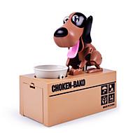 Choken Bako Bank Puşculiţă Fură Banca Monedei Salvarea casetei de bani Cazul Piggy Bank Robot câine Jucarii Novelty Caini 1 Bucăți de