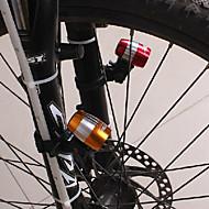 billige Sykkellykter og reflekser-Sykkellykter sikkerhet lys LED - Sykling Nedslags Resistent Anti Glide Enkel å bære Annen CR2032 Cellebatterier Lumens Batteri Dagligdags