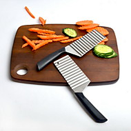abordables -Outils de cuisine Acier inoxydable Nouveautés Cutter & Slicer Pour légumes 1pc
