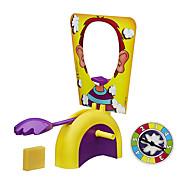 Jogo de Tabuleiro Gadgets para Pegadinhas Fun Face Game Gadgets engraçados Brinquedos Circular Vislumbre Interação Familiar Raparigas