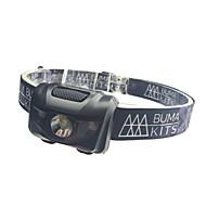 ヘッドランプ 安全ライト ヘッドライト LED - サイクリング 防水 コンパクトデザイン 変色 単四電池 180 ルーメン バッテリー キャンプ/ハイキング/ケイビング 日常使用 サイクリング-XIE SHENG®