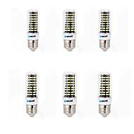 6 stk brelong 6w e14 / g9 / gu10 / e27 / b22 led corn lights 80 smd 5733 550-600lm varm hvit / kul hvit ac 220-240 v