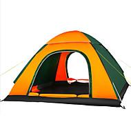 3-4 Pessoas Tenda Único Barraca de acampamento Um Quarto Tenda Automática Á Prova de Humidade Bem Ventilado Prova-de-Água Resistente