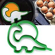 billige Eggeverktøy-kjøkken Verktøy Silikon Kreativ Kjøkken Gadget Gjør Det Selv Støpeform for Egg 1pc