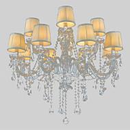 billige Bestelgere-LWD Candle-stil Lysekroner Omgivelseslys - Krystall, 110-120V / 220-240V Pære ikke Inkludert / 30-40㎡ / E12 / E14