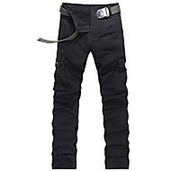 Muškarci Pamuk Ravan kroj Sportske hlače Široke Hlače Jednobojni
