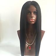 Menneskehår Helblonde Blonde Front Paryk Krop Bølge 130% Massefylde 100 % håndbundet Afro-amerikansk paryk Natural Hairline Kort Medium