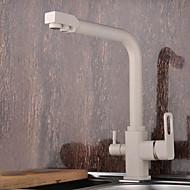 Χαμηλού Κόστους Μπαταρίες κουζίνας με φίλτρο-Βρύση Κουζίνας - Σύγχρονο Ζωγραφιά πρότυπο στόμιο Αναμεικτικές με ενιαίες βαλβίδες