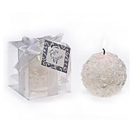djeverušama / bachelorette - ružičasta lopta svijeća home décor vjenčanje favorizira 5.3 x 5.3 x 5.3 cm / box