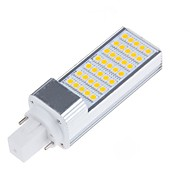 billige Bi-pin lamper med LED-6.5W E14 G23 G24 E26/E27 LED-lamper med G-sokkel T 35 leds SMD 5050 Dekorativ Varm hvit Kjølig hvit 750-800lm 3000/6000K AC 85-265 AC