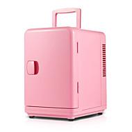 6l voiture mini réfrigérateur maison à double usage rose