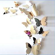 Eläimet Wall Tarrat 3D-seinätarrat / Peilitarrat Koriste-seinätarrat / Häätarrat,PVC materiaali Pestävissä / Irroitettava / Siirrettävä