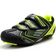 baratos Sapatos Masculinos-Homens PVC / Microfibra Primavera / Outono Conforto Tênis Ciclismo Cinzento / Verde