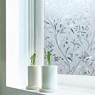 baratos Películas e Adesivos de Janela-Art Deco Moderna Película para Vidros, PVC/Vinil Material Decoração de janela Sala de Jantar Quarto Escritório Quarto das Crianças Sala