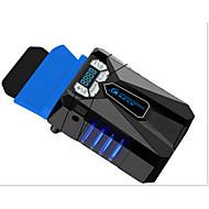 ventilador a vácuo refrigerador de laptop, companheiro de jogo de resfriamento, compatibilidade com 4 juntas de junção