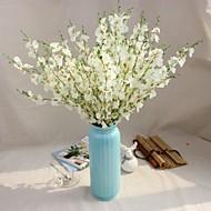 1 1 Branch Polyester / Plastikk Others Gulvblomst Kunstige blomster 37inch/94cm
