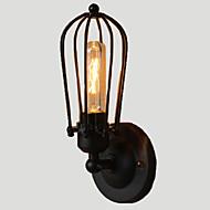 billige Krystall Vegglys-Rustikk / Hytte Vegglamper Metall Vegglampe 110-120V / 220-240V 40W / E26 / E27