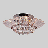 cheap Ceiling Lights & Fans-Modern/Contemporary Crystal Flush Mount Ambient Light For Living Room Bedroom Dining Room 110-120V 220-240V Bulb Not Included