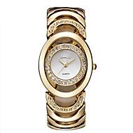 女性用 スケルトン腕時計 ファッションウォッチ 透かし加工 クォーツ 日本産クォーツ ステンレス バンド バングル シルバー ゴールド ローズゴールド