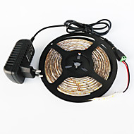 abordables -z®zdm étanche 5m 300x3528 blanc lumière blanche / chaud led eu / us / uk AC110-240V à dc12v2a transformateur