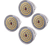 billige Spotlys med LED-Youoklight 4pcs mr16 6.5w 500-550lm varm hvit 3000k 48-smd 2835 led spotlight (ac12v)
