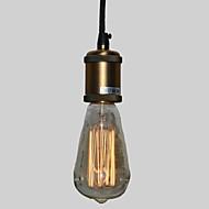 お買い得  Wood Lights-ペンダントライト ダウンライト - ミニスタイル, 110-120V / 220-240V 電球付き / 10-15㎡ / E26 / E27