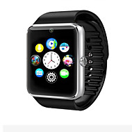 tanie Inteligentne zegarki-Inteligentny zegarek na Android Spalone kalorie / Długi czas czuwania / Ekran dotykowy / Kamera / aparat / Krokomierze Powiadamianie o połączeniu telefonicznym / Rejestrator snu / siedzący / Budzik