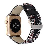 billiga Smart klocka Tillbehör-Klockarmband för Apple Watch Series 3 / 2 / 1 Apple Klassiskt spänne Tyg Handledsrem