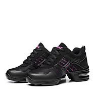 baratos Sapatilhas de Dança-Mulheres Tênis de Dança / Sapatos de Dança Moderna Courino / Tecido Botas / Têni Sem Salto Não Personalizável Sapatos de Dança Rosa claro
