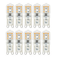 cheap LED Bulbs-YWXLIGHT® 10pcs 4W 300-400 lm G9 LED Bi-pin Lights T 14 leds SMD 2835 Dimmable Decorative Warm White Cold White Natural White AC 110-130V
