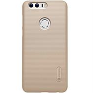 billiga Mobil cases & Skärmskydd-fodral Till Huawei Honor V8 / Huawei Honor 5C / Huawei Njut 5S Honor 8 / Huawei-fodral Stötsäker / Dammtät / Ultratunt Skal Enfärgad Hårt PC för Honor 8 / Honor 6X / Huawei Honor V8 / Mate 9 Pro