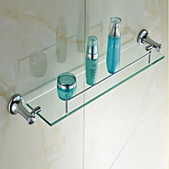 浴室棚 / クロム クリスタル /コンテンポラリー