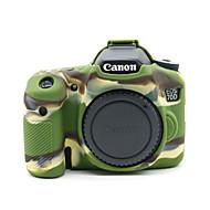 dengpin® armadura de silicone macio câmara de borracha pele saco caso de capa para Canon EOS 70D (cores sortidas)