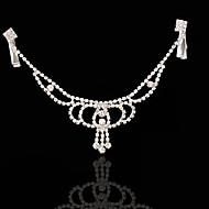 economico Corone, diademi e accessori per capelli sposa-Lega Head Chain 1 Matrimonio Occasioni speciali Copricapo