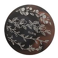 Stamping Nail Art Plate Stampere škrabka 5.6*5.6