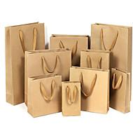 kraft papieren zakken zak kledingstuk zak gift bag zakken universele zakken reclame tassen op maat een pakket van vijf