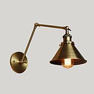 tanie Kinkiety Ścienne-Wiejski Lampy ścienne Na Metal Światło ścienne 220V 110V 40WW