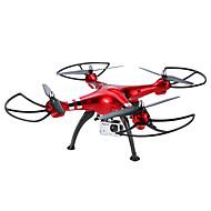 Χαμηλού Κόστους SYMA®-RC Ρομποτάκι SYMA X8HG 4 Kανάλια 6 άξονα 2,4 G Με κάμερα HD 8.0MP 8.0MP Ελικόπτερο RC με τέσσερις έλικες Λειτουργία άμεσου ελέγχου /